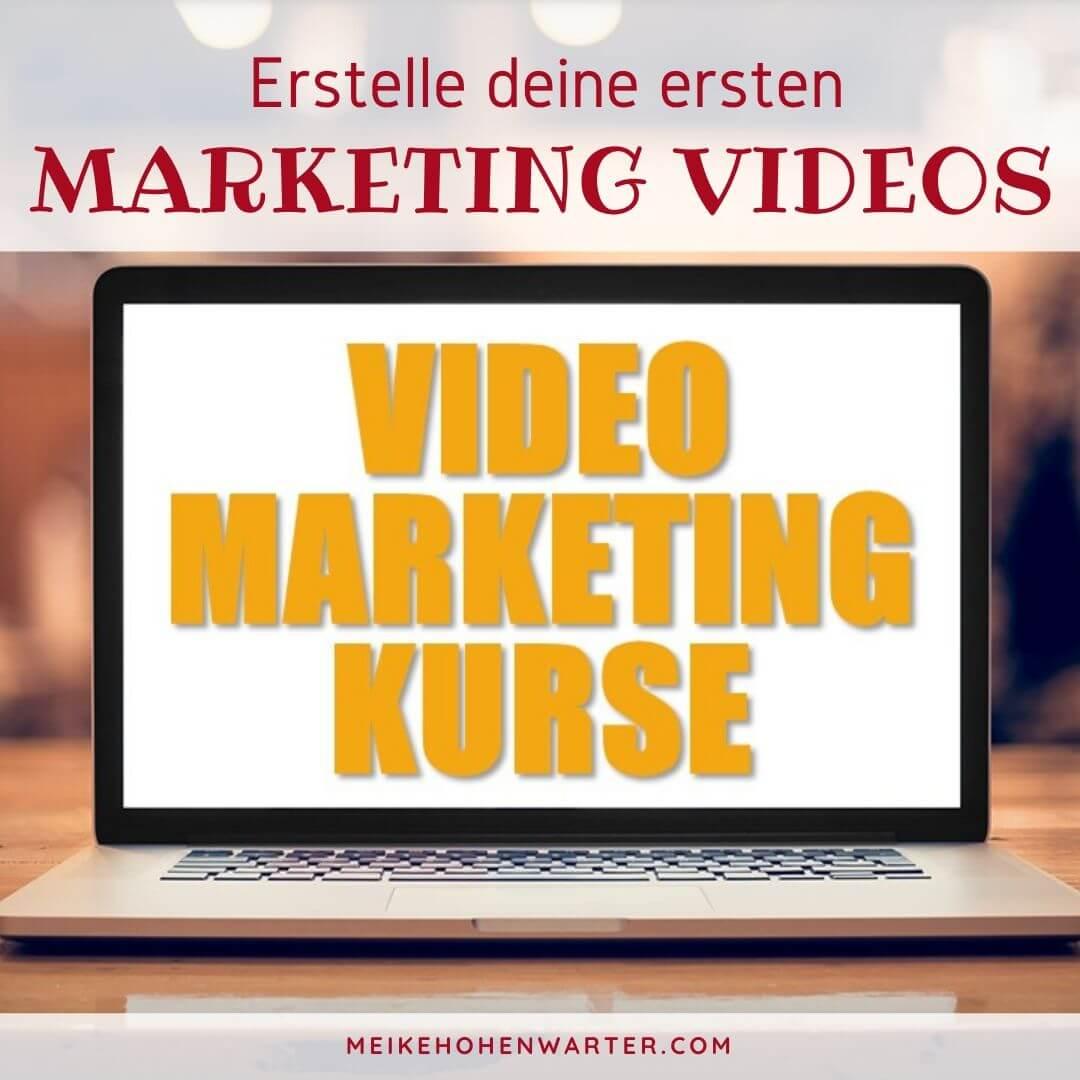ERSTELLE DEINE ERSTEN MARKETING VIDEOS