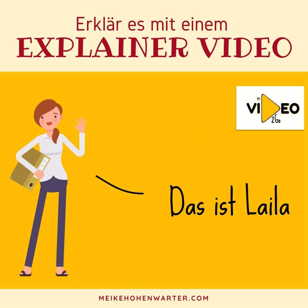 ERKLÄRE ES MIT EINEM EXPLAINER VIDEO