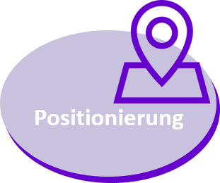 Positionierung v