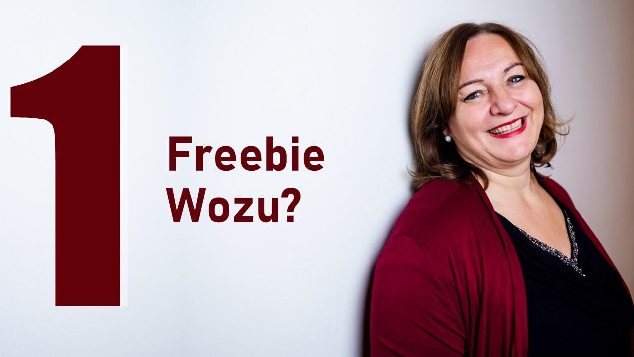1 Freebie wozu