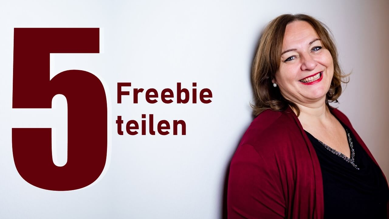 5 Freebie teilen