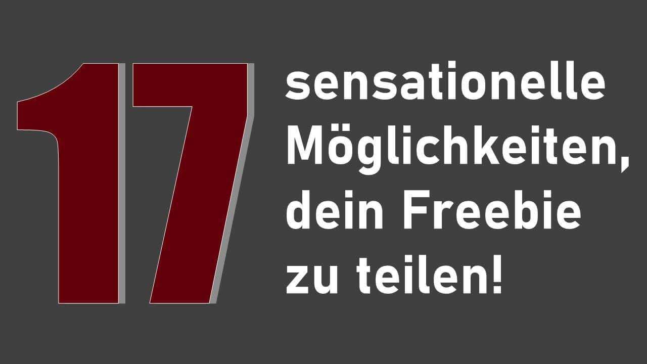 17 Freebie