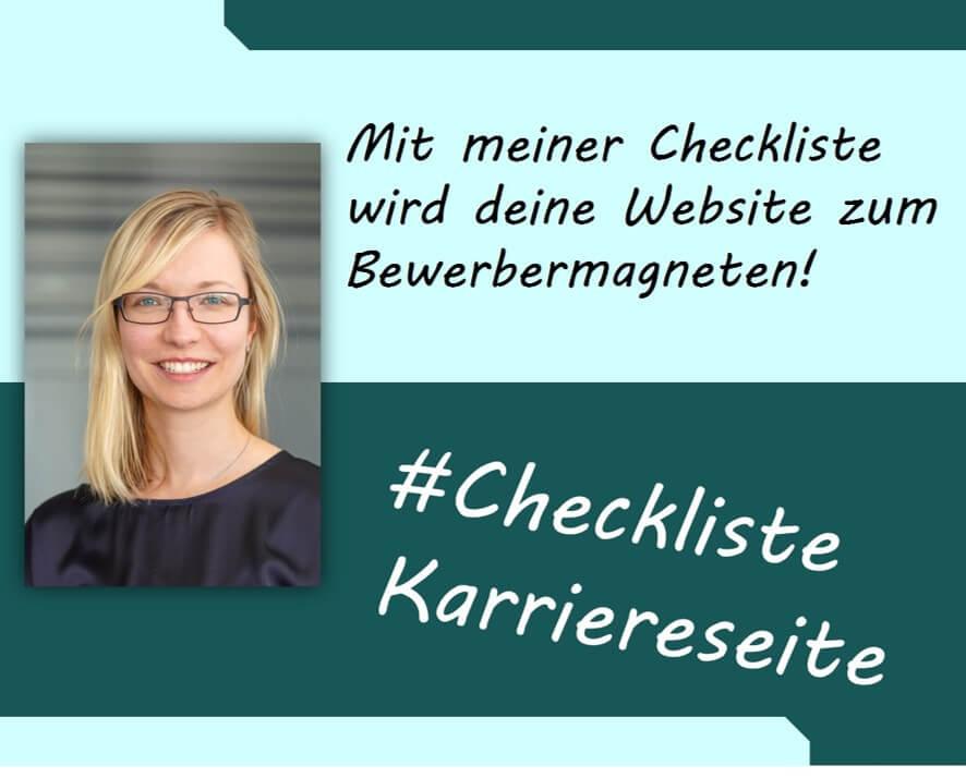 Freebie Bild_Madeleine_quadratisch_Checkliste Karriereseite