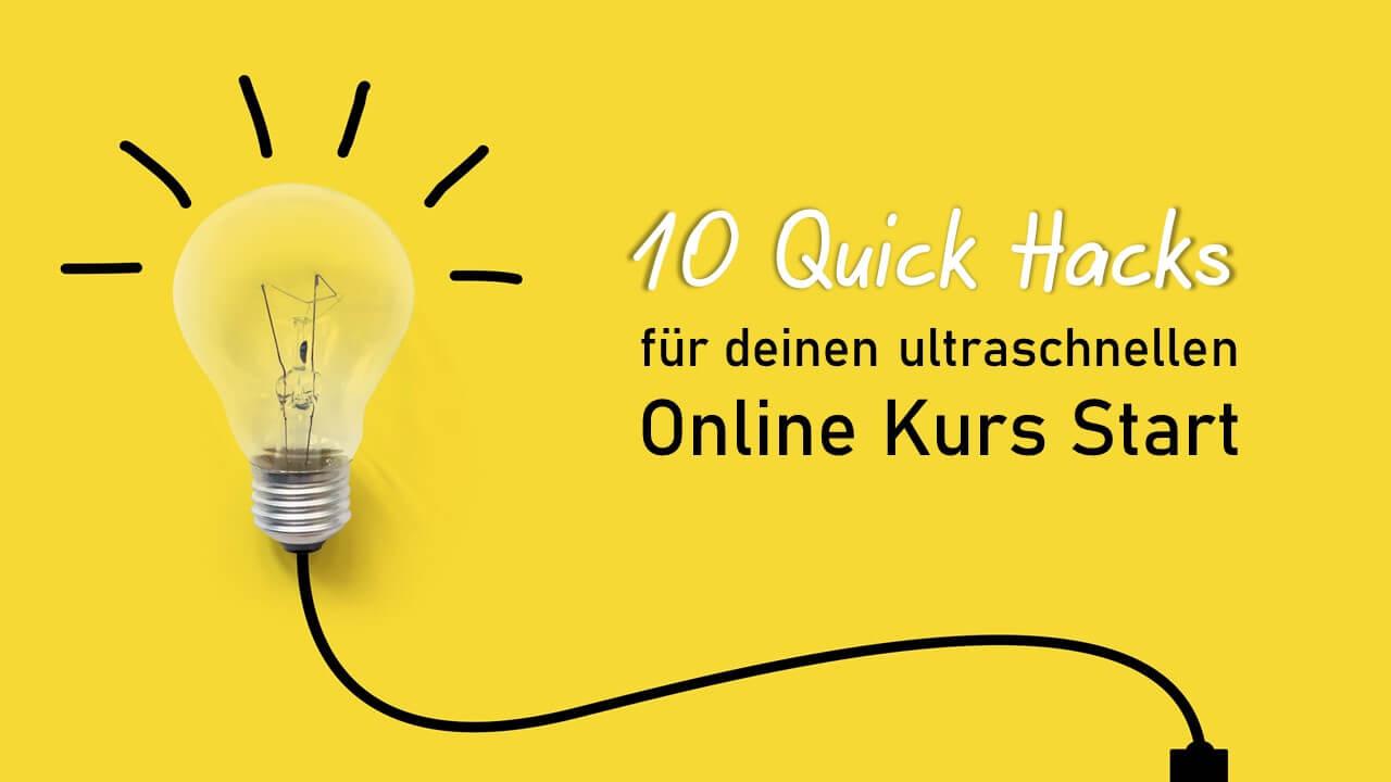10 Hacks Online Kurs